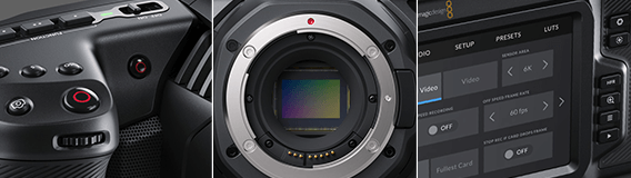 Blackmagic Pocket Cinema Camera 6K  - Detailansicht