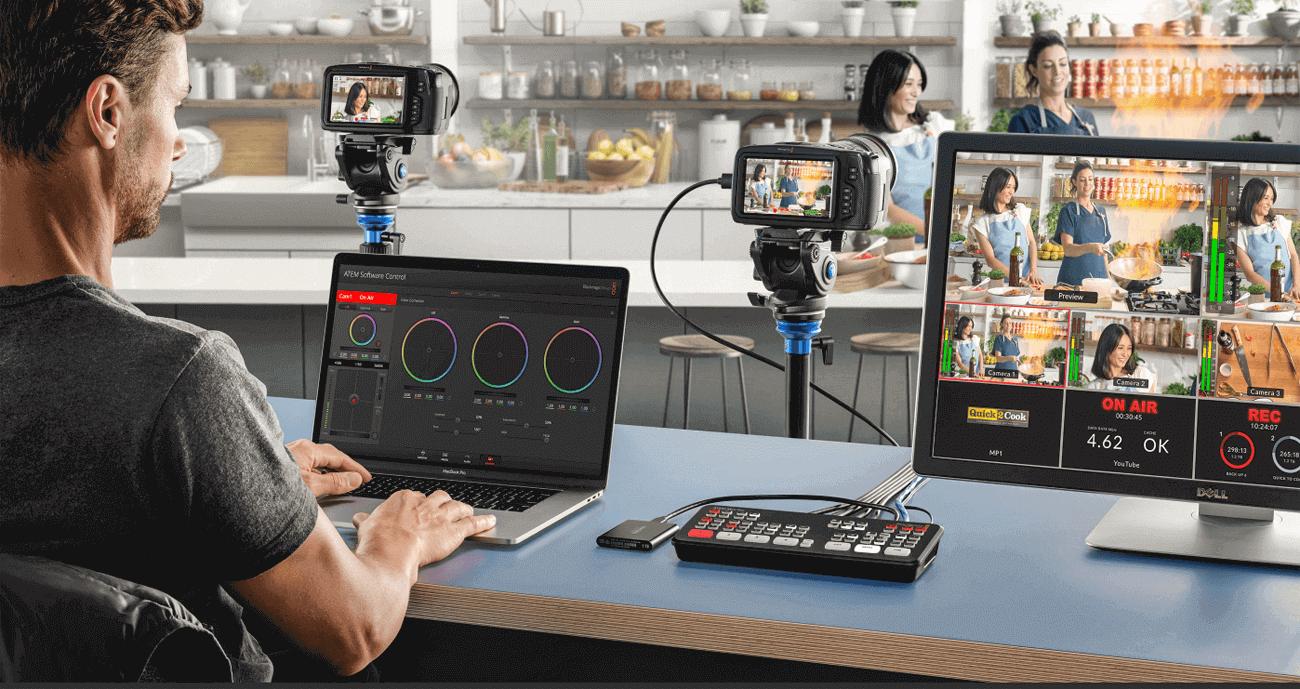ATEM Mini Pro Videomischer