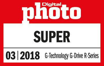 """Auszeichnung """"Super"""" der Digital Photo für die G-DRIVE mobile SSD R-Serie"""