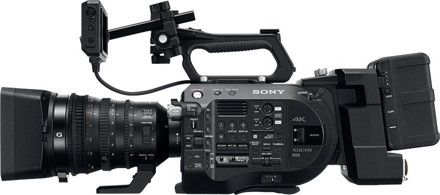 Der FS7 II von SONY ist ein professioneller 4K-Camcorder.
