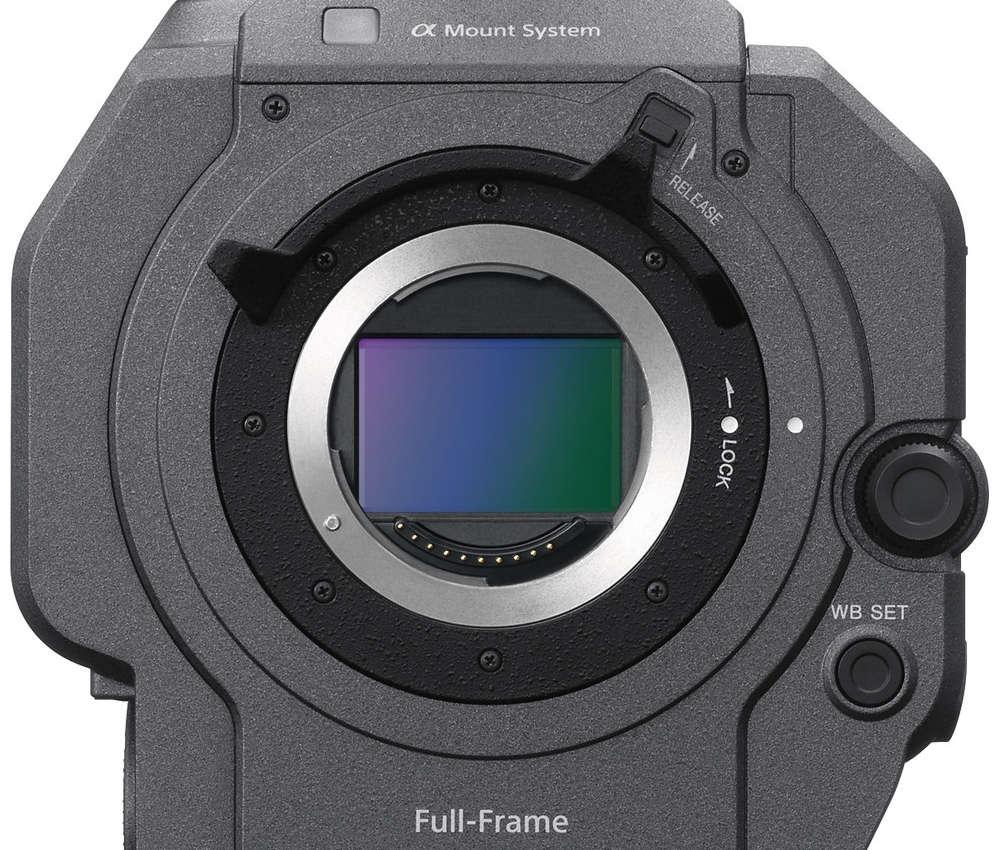 Sony PXW-FX9 Sensor und Sony E-Objektivanschluss